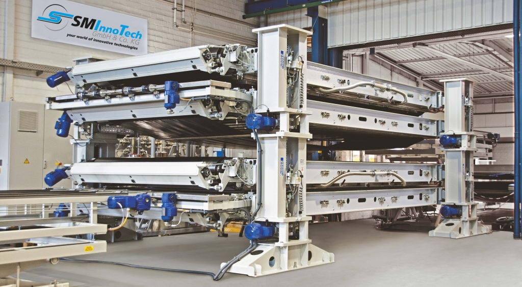 Unsere incapcell®-Laminatoren können universell in den Bereichen der Solar- und Glasindustrie eingesetzt werden.